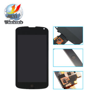 Cell Phone LCD for LG Nexus 4 E960 LCD & Touch Screen Digitizer with Frame pictures & photos