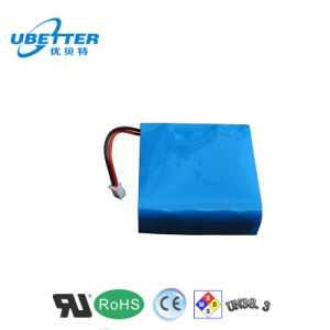 Rechargeable 14.8V 2200mAh Li Ion Battery for Walkie Talkie pictures & photos