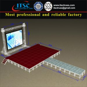 Aluminum Runway Stage and Backdrop Mobile Lighting Truss pictures & photos