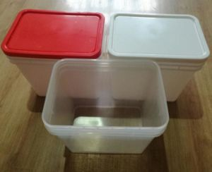 6 Gallon Fruit Jam Plastic Packaging Bucket pictures & photos