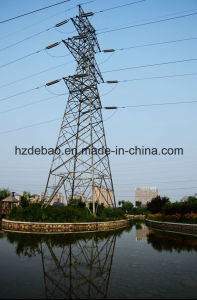 Angle Steel Frame Electric Power Transmission Tower pictures & photos