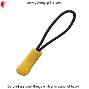 Promotional 3D Green Soft PVC Zipper Puller (YH-ZP019) pictures & photos
