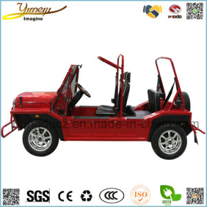 New Wholesale Design 4 Seats 4WD Electric Motor Moke Car pictures & photos