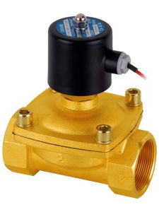 "3/4"" 110V AC Electric Brass Solenoid Valve Water Gas Air 110 Volts VAC pictures & photos"