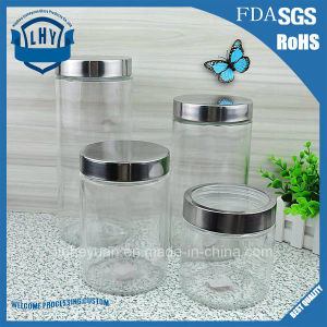 900ml---2200ml Glass Jar, Food Jar, Kitchenware Storage Can with Hermetic Seal