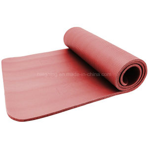 Eco-Friendly Sports Mat 10mm Thickness NBR Yoga Mat pictures & photos