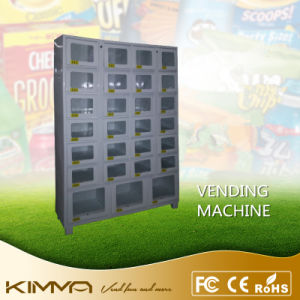 27 Cells Lockers Cell Cabinet Combine with S770 Vending Machine to Enlarge Vending Capacity pictures & photos