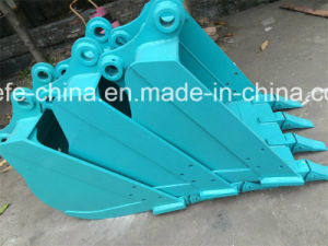 Kobelco Sk120-5 Sk200-3 Excavator Heavy Duty Bucket Reinforced Bucket Assy pictures & photos