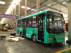 32-36seats 8.5m Electric City Bus for Sale pictures & photos