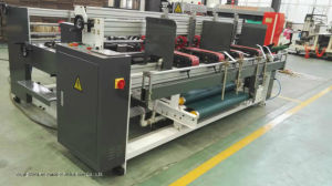 Model Double Piece Folder Gluer with ISO9001 pictures & photos