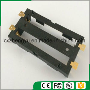 2X18650 Battery Holder with SMD/SMT Gold Plated pictures & photos
