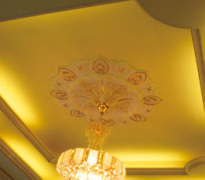 PU Lighting Medallion Ceiling Medallions pictures & photos