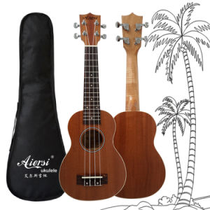 China Aiersi Soprano Mahogany Hawaii Ukulele pictures & photos