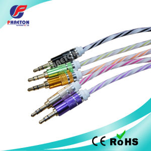 Stereo Audio Data Cable with Metal Plug pictures & photos
