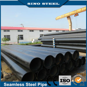 Hot Sale ASTM A106 Sch40 Black Carbon Seamless Steel Pipe pictures & photos