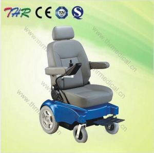 Thr-Ms128 High Quality Indoor Mini Handicapped Electric Wheelchair pictures & photos