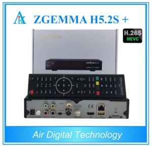 Hevc/H. 265 Multistream DVB-S2+DVB-S2/S2X/T2/C Triple Tuners Zgemma H5.2s Plus Dual Core E2 Combo Receiver pictures & photos