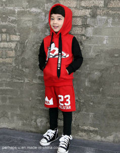 2017 Spring Boy Sports Suit Children Fashion Printing Wear pictures & photos