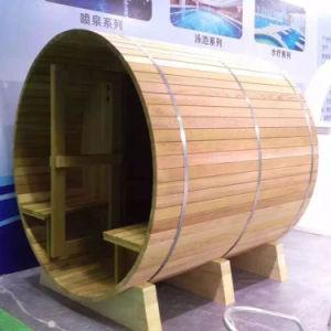 Round Shape Garden 4 Person Outdoor Sauna Room pictures & photos