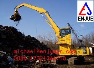 Hydraulic Orangel Peel Excavator Grab Excavator Grapple for Steel Scrap Lifting pictures & photos