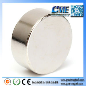 Round Flat Magnets Magnetic Field Magnet pictures & photos