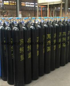 Dsw Brand Seamless Steel 40L Nitrogen/Oxygen/Acetylene/Argon Gas Cylinder pictures & photos