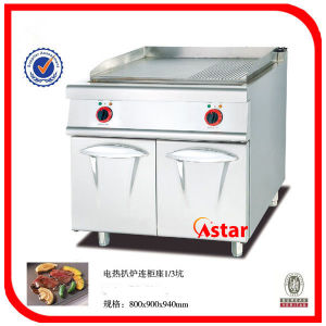 Electric Griddle with Cabinet (1/3 Grooved) Ck01059011 pictures & photos