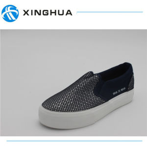 Good Design Rubber Shoes Canvas Cheap Casual Footwear pictures & photos