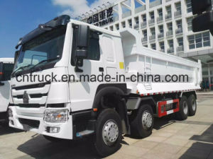 HOWO Brand New 8X4 Dump Truck with Hardox Steel Body pictures & photos