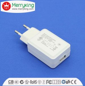 Kc UL Ce LVD USB Adapter Wireless Charger pictures & photos
