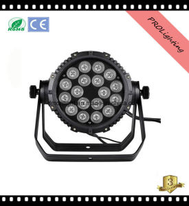 IP65 Waterproof 18 * 15W 5-in-1 LED PAR Can Lights Professional Stage Lighting pictures & photos