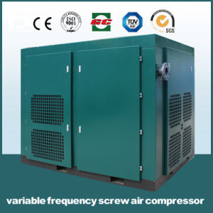 Custom Printed High Efficient Permanent Magnetic Variable Frequency Air Compressor with ISO9001 pictures & photos