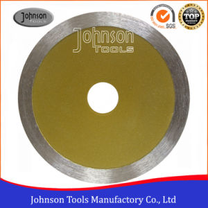 5 Inch Continuous Diamond Saw Blade for Cutting Marble pictures & photos