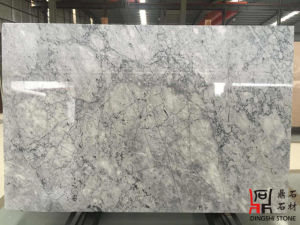 Natural Chinese White Carrara Prague Grey Marble Slabs for Wall Tiles/Countertops pictures & photos
