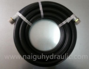 Braided NBR Rubber Hose Assembly for Fuel Line SAE J30 R6 High Pressure Motorcycle Diesel Hose Engine Oil Lubricant Oil pictures & photos