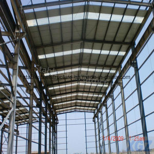 Two Span Pre Engineer Steel Structure Buildings with Crane pictures & photos