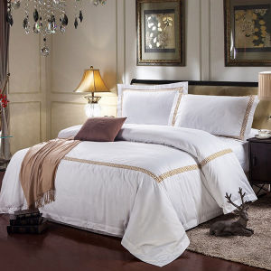 Promotional Hotel Bedding Set From China Linen Manufacturer pictures & photos