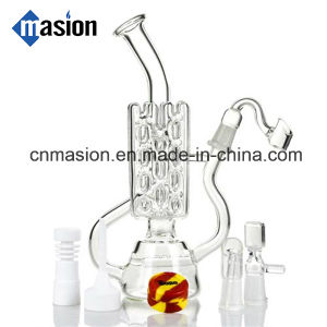 Nice Design Quality Recycler Glass Pipe for Smoking (EY002) pictures & photos