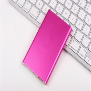 5000mAh Super Slim for Xiaomi Portable Power Bank Mobile Phone Charger pictures & photos