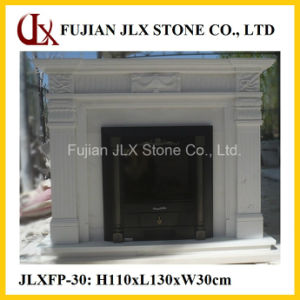 Natural White Marble Hand Carving Stone Fireplace pictures & photos