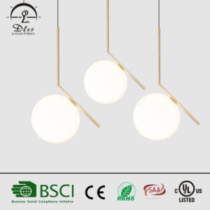 Round Ball Metal and Glass Pendant Lamp Handing Light for European Market pictures & photos