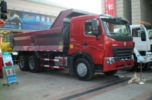 30tons Load Luxury Front Tipping Truck with Hyva Hydraulic pictures & photos