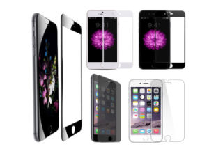 Clear Explosion Proof Mobile Phone Tempered Glass Screen Protector for iPhone6 pictures & photos