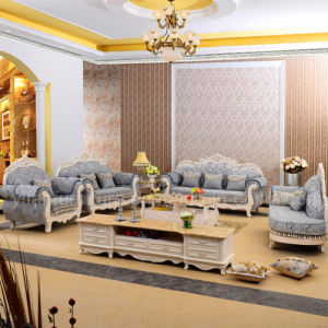 Wooden Fabric Sofa for Living Room Furniture (929O)