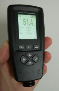 Coating Thickness Gauge 0~5000um High Accuracy 2% pictures & photos