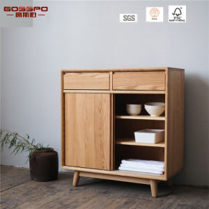 European Style Water Resistant Wooden Kitchen Cabinet (GSP5-040) pictures & photos
