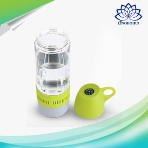 Functional Waterproof Water Bottle Outdoor Speaker with Compass pictures & photos