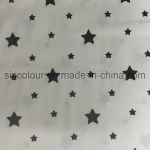 88%Polyester 12%Spandex Stars Printing Fabric for Swimwear pictures & photos