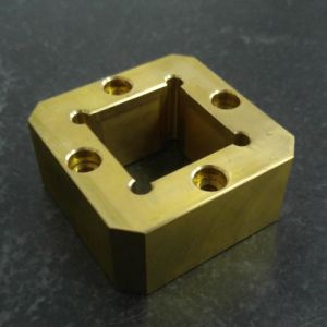 Brass Components by CNC Machining