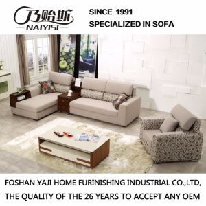 Modern Sectional Fabric Sofa with Armrest Fb1112 pictures & photos